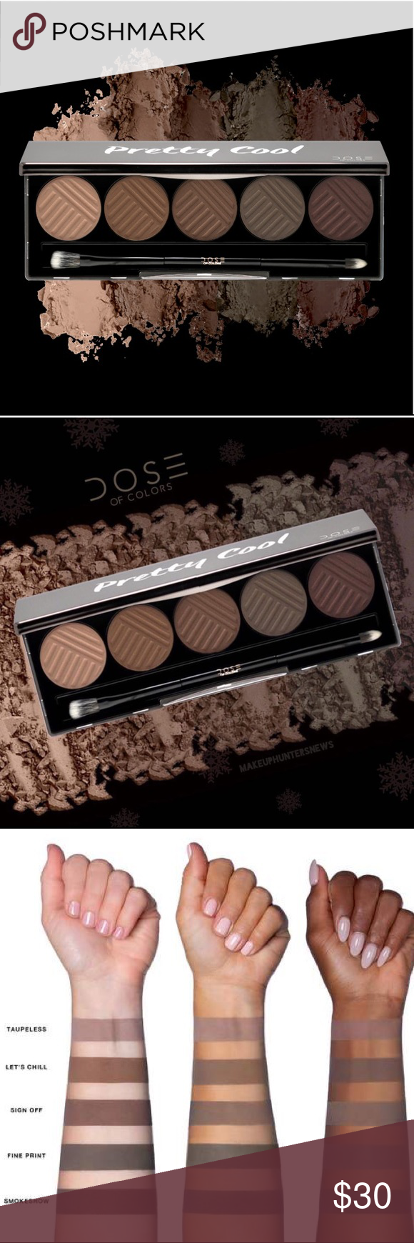 HPx2 Dose of Colors Pretty Cool Palette NWT Favorite