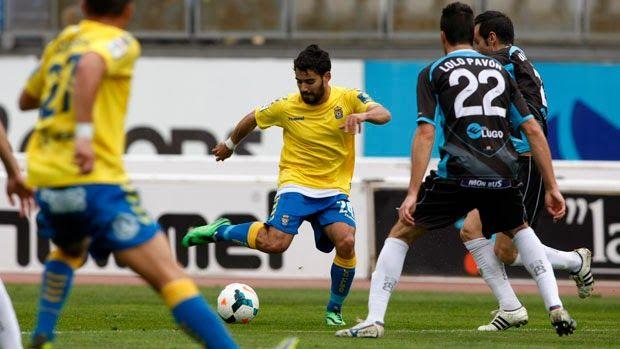 TIEMPO DE DEPORTE: La U.D. Las Palmas mereció mas que el empate ante ...