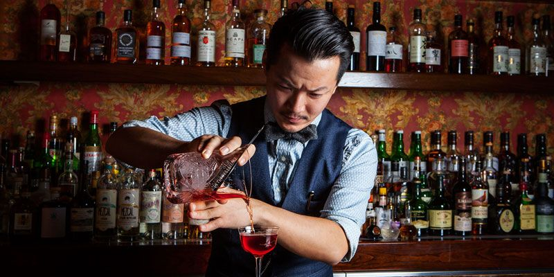 Best Jobs That Require No Experience 2021 Guide Bartender Cool Bars Sake Bar