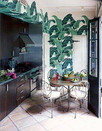 Marvelous Martinique Banana Leaf Wallpaper Vs The Thrill Of