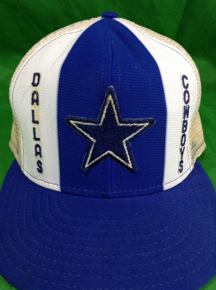 Dallas Cowboys Snapback Hat Vintage Nfl Pinwheel Trucker Cap By Lucky  Stripe  LuckyStripe  BaseballCap 794d550ac36
