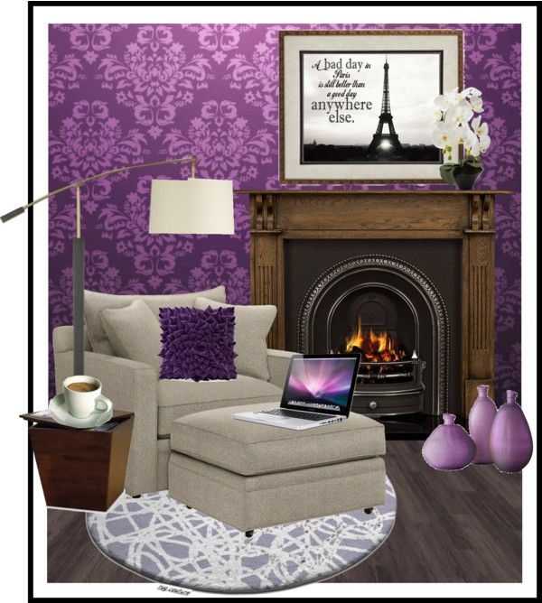 """""""Where do I Polyvore... In a Comfy Chair...."""" by daquvina ❤ liked on Polyvore"""