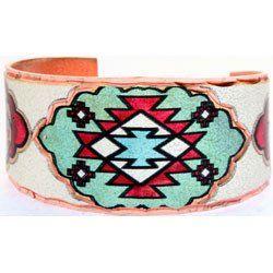 Native Design Colourful Ring