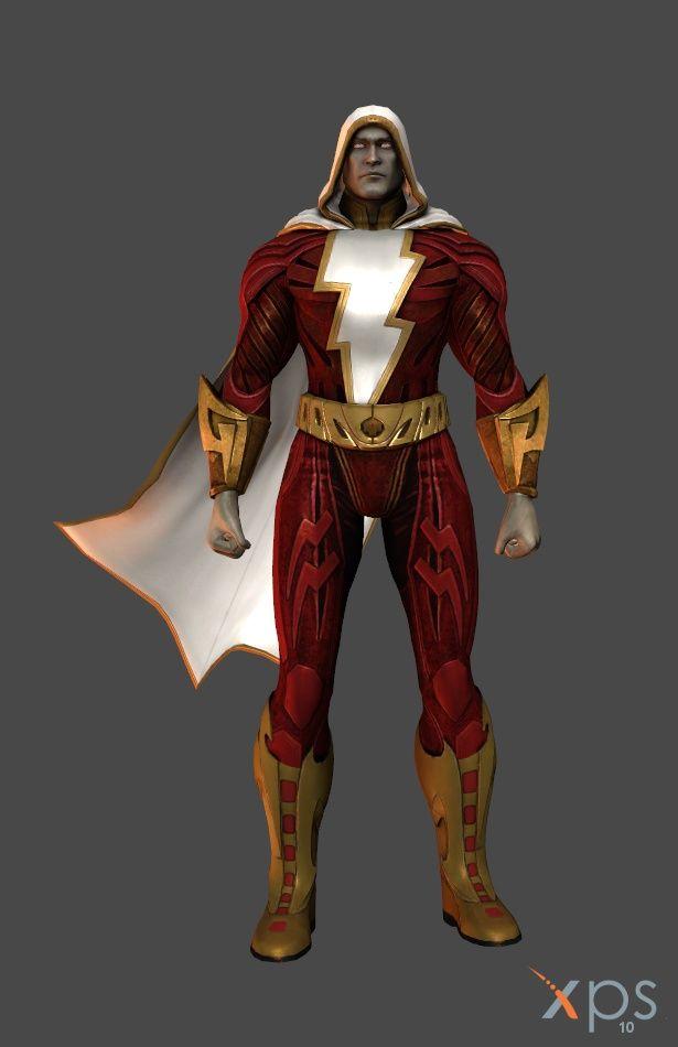 Injustice Gods Among Us Shazam