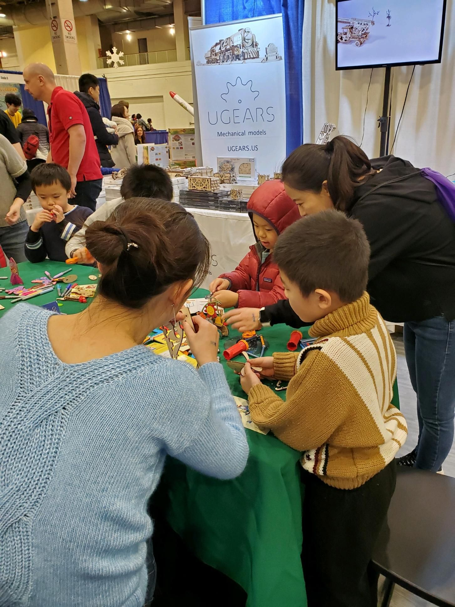 Fun With Ugears At Chicago Toy Amp Game Fair In