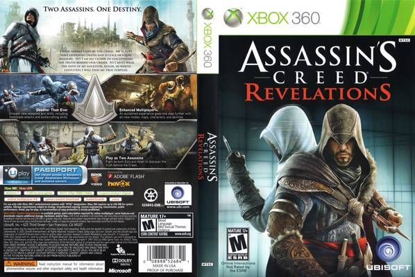 Assassin Creed Revelations Xbox 360 Xbox Assassins Creed Xbox 360