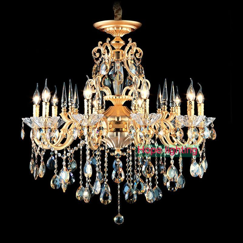 Bohemian Crystal Chandelier Traditional Vintage Chandeliers Bronze