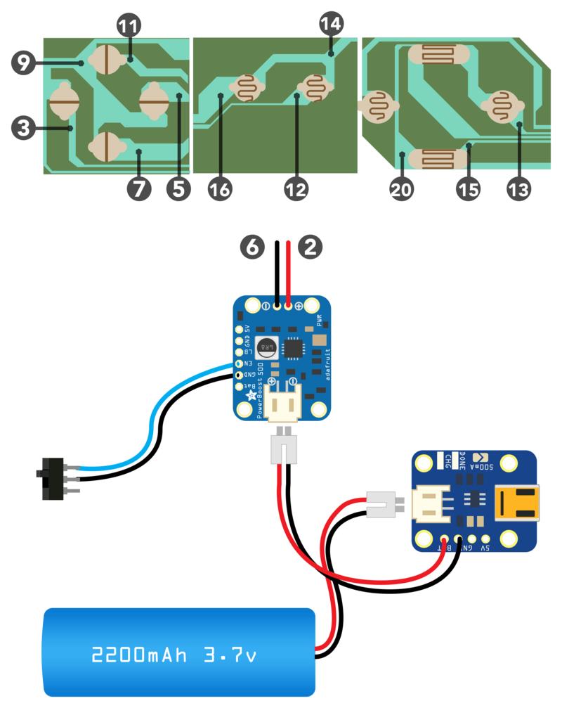 circuit diagram pigrrl raspberry pi gameboy adafruit [ 800 x 1007 Pixel ]