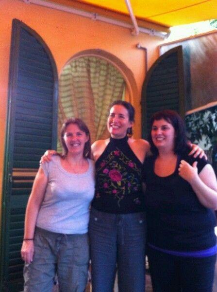 Con le ragazze della libreria Fogola di Pisa.