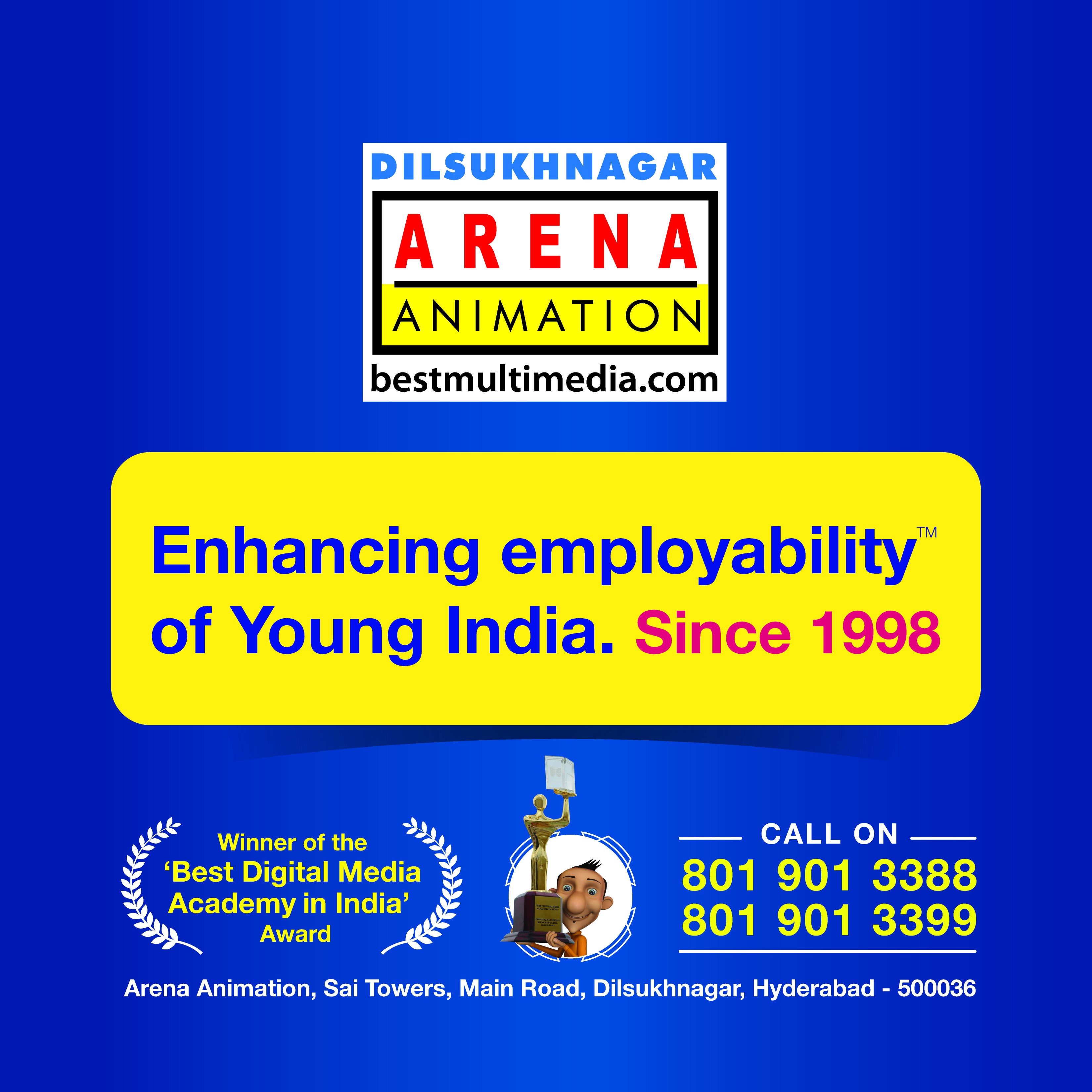 Pin By Arena Animation Dilsukhnagar On Learn Animation Learn Animation Animation Colleges Digital Media