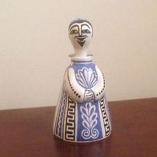 'Nodder'.  Bernard Moss; Mevagissey Pottery Figure.