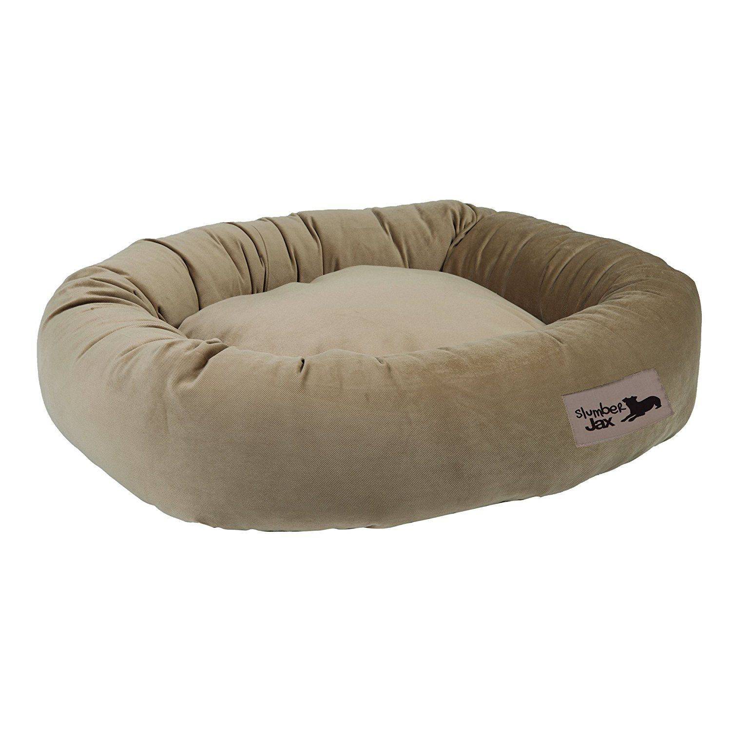 Slumberjax Luxury Donut Dog Bed Special Dog Product Just For You See It Now Dog Beds And Furniture Donut Dog Bed Dog Bed Cool Dog Beds