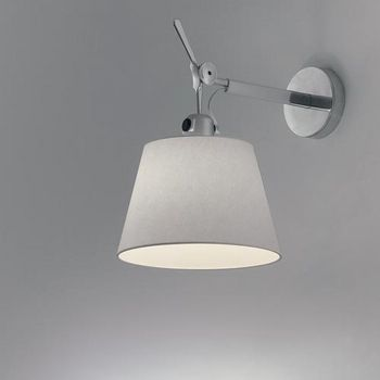 Tolomeo 7 10 12 Wall Shade Artemide Tolomeo Wall Sconces Ylighting Wall Lights Wall Lamp Wall Lighting Design