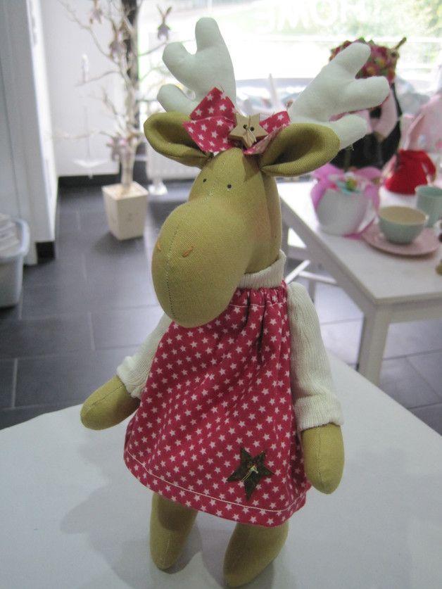 Wohndekoration   Elch, Elchmädchen, Deko, Weihnachten, Geschenk   Ein  Designerstück Von Sweet Home IrisGorhold Bei DaWanda