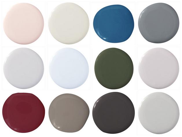 cold colors palette