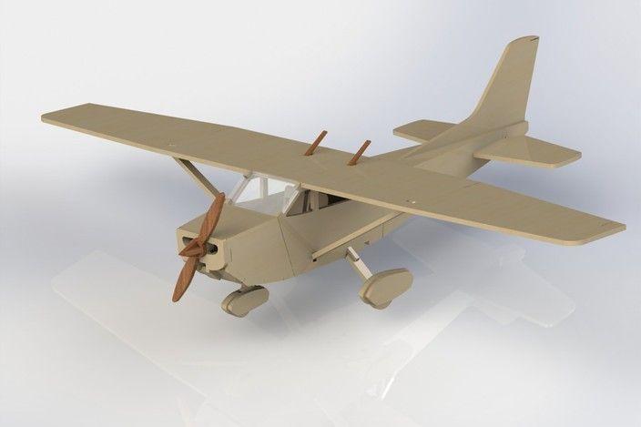 Cessna 172 - SolidWorks, Other - 3D CAD model - GrabCAD