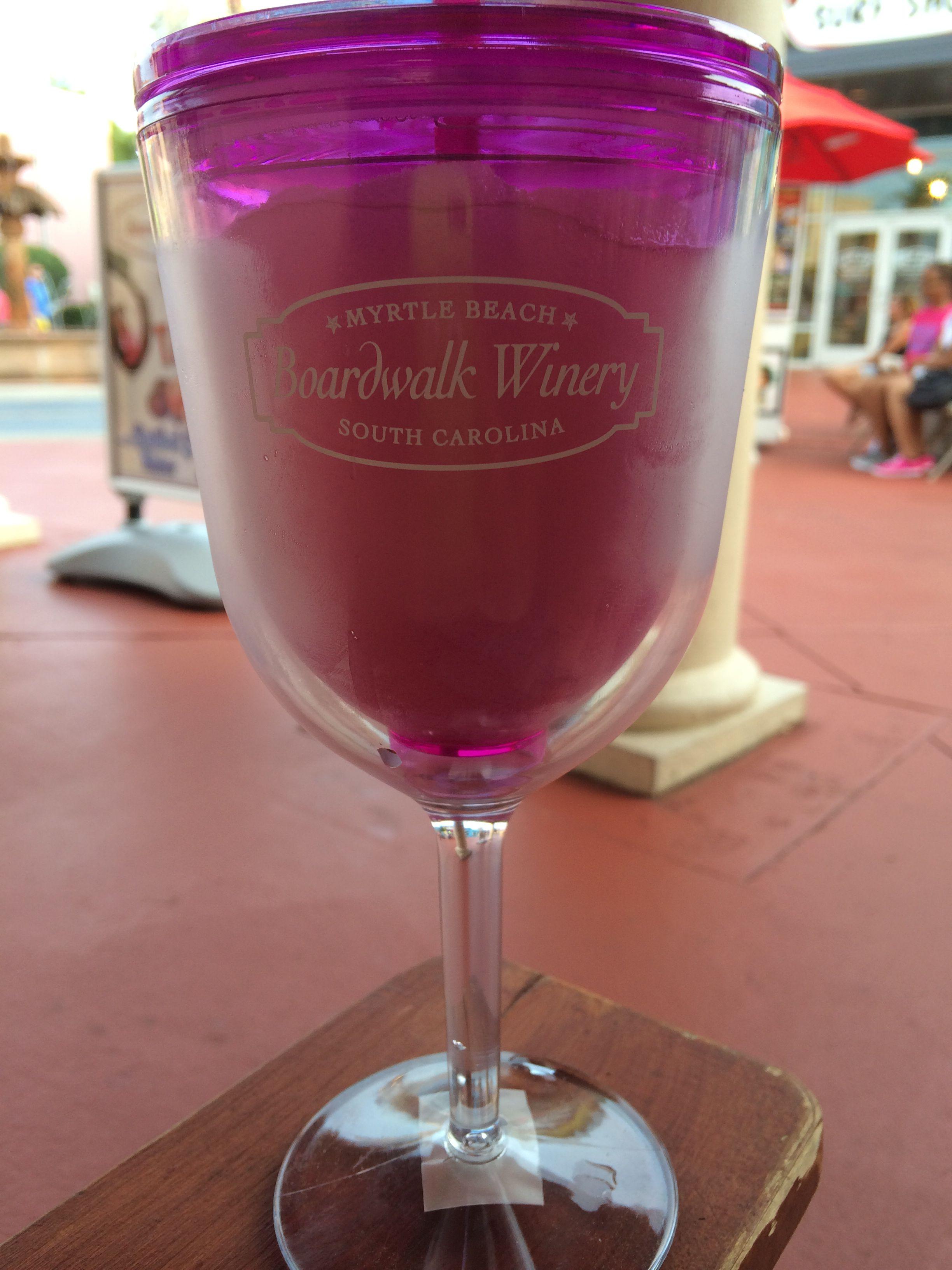 Peach Wine Slushie From Boardwalk Winery At Broadway At The Beach Myrtle Beach Sc Myrtle Beach Vacation Broadway At The Beach Myrtle Beach
