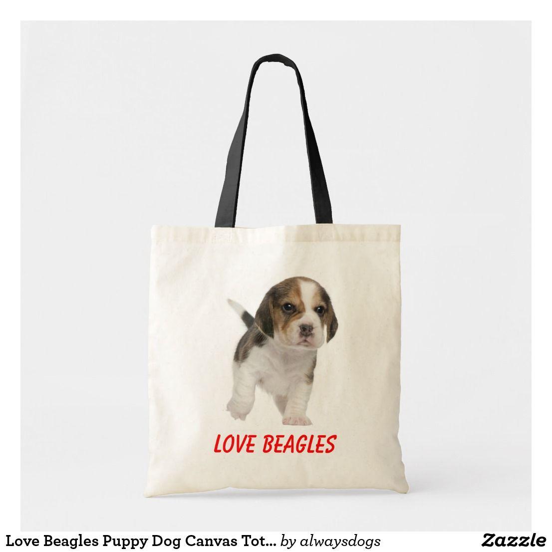 Beagle Love Tote