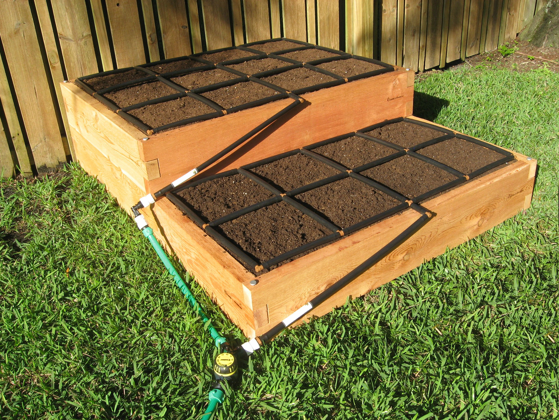Tiered Raised Garden Kit 4x5 Raised garden beds, Cedar