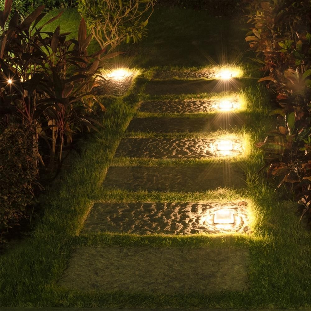 Calandra Led Solar Ground Embedded Light Solar Led Lights Outdoor Solar Powered Lights Landscape Lighting Design