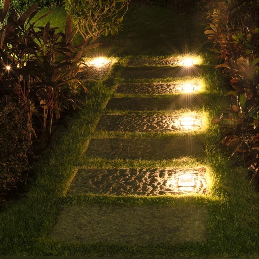Calandra Led Solar Ground Embedded Light In 2020 Solar Led Lights Outdoor Solar Powered Lights Outdoor Lighting Landscape