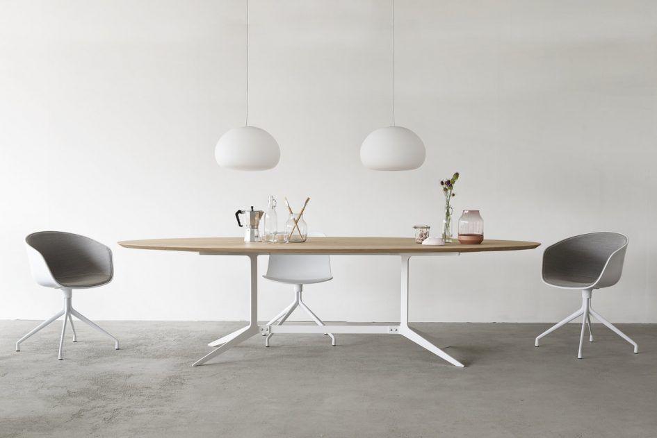 Ronde Houte Tafel : Eetkamer houten salontafel metalen onderstel hout met stalen
