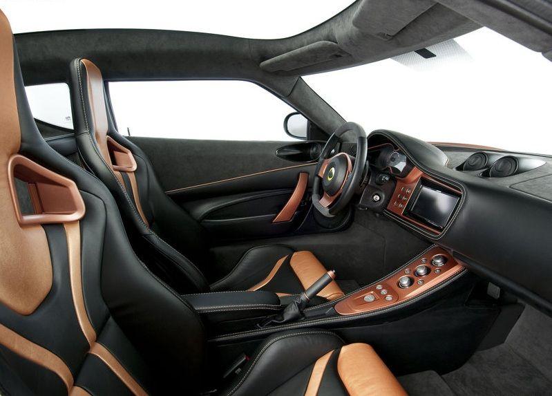 Lotus Evora 414E Concept Interior