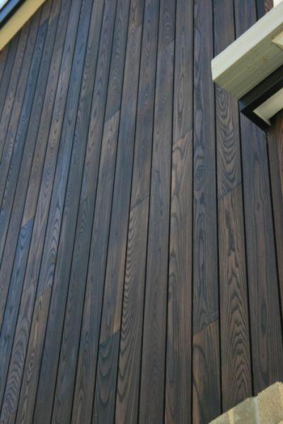 Burnt Ash Cladding Woodform Architectural Sabin Cabin