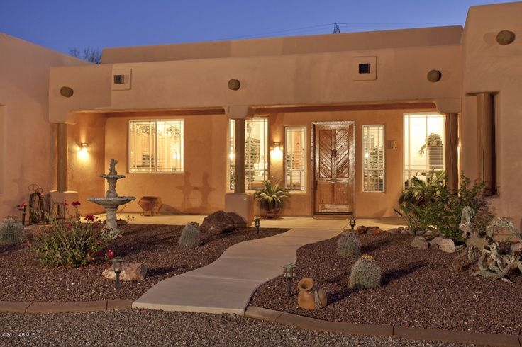 Santa Fe Style Homes Arizona House Design Ideas