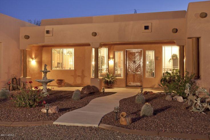 Santa Fe Style Home Arizona Santa Fe Style Homes Are My Favorite