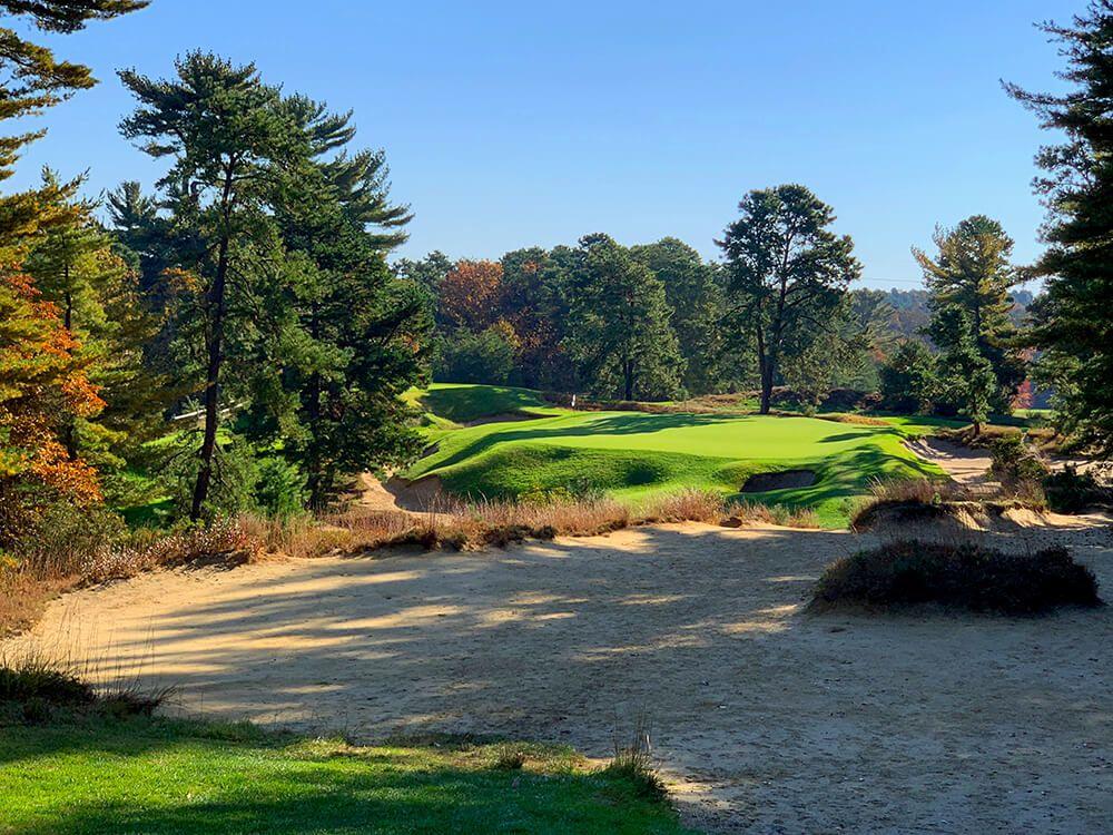 Golf's Greatest Bunkers   Pine valley, Bandon dunes, Instagram