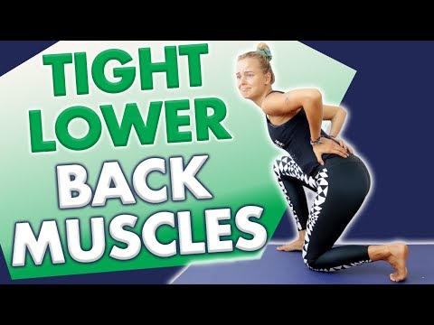 1 loosen tight lower back and hamstring muscles