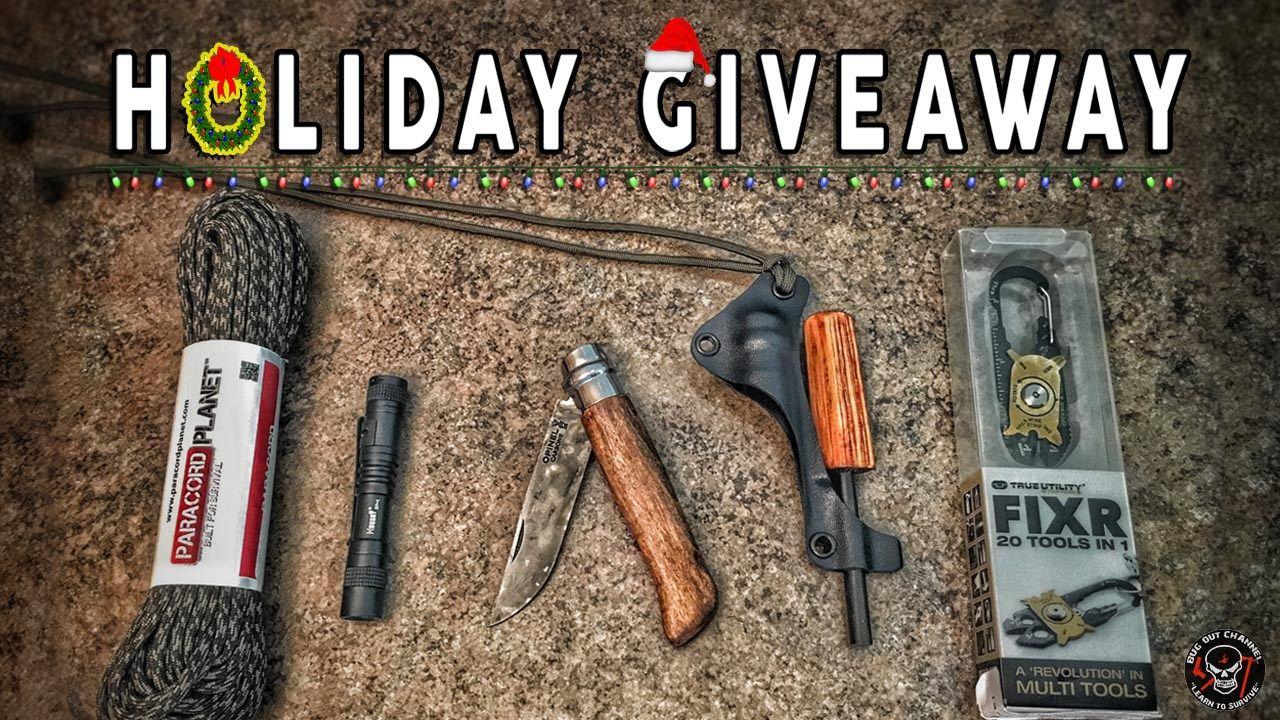 Holiday Survival Gear Giveaway Survival gear, Survival