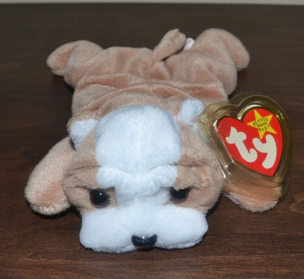 Details about Ty Beanie Baby - Wrinkles - the Dog - Birth Date May 1 ... 2f165baa9979