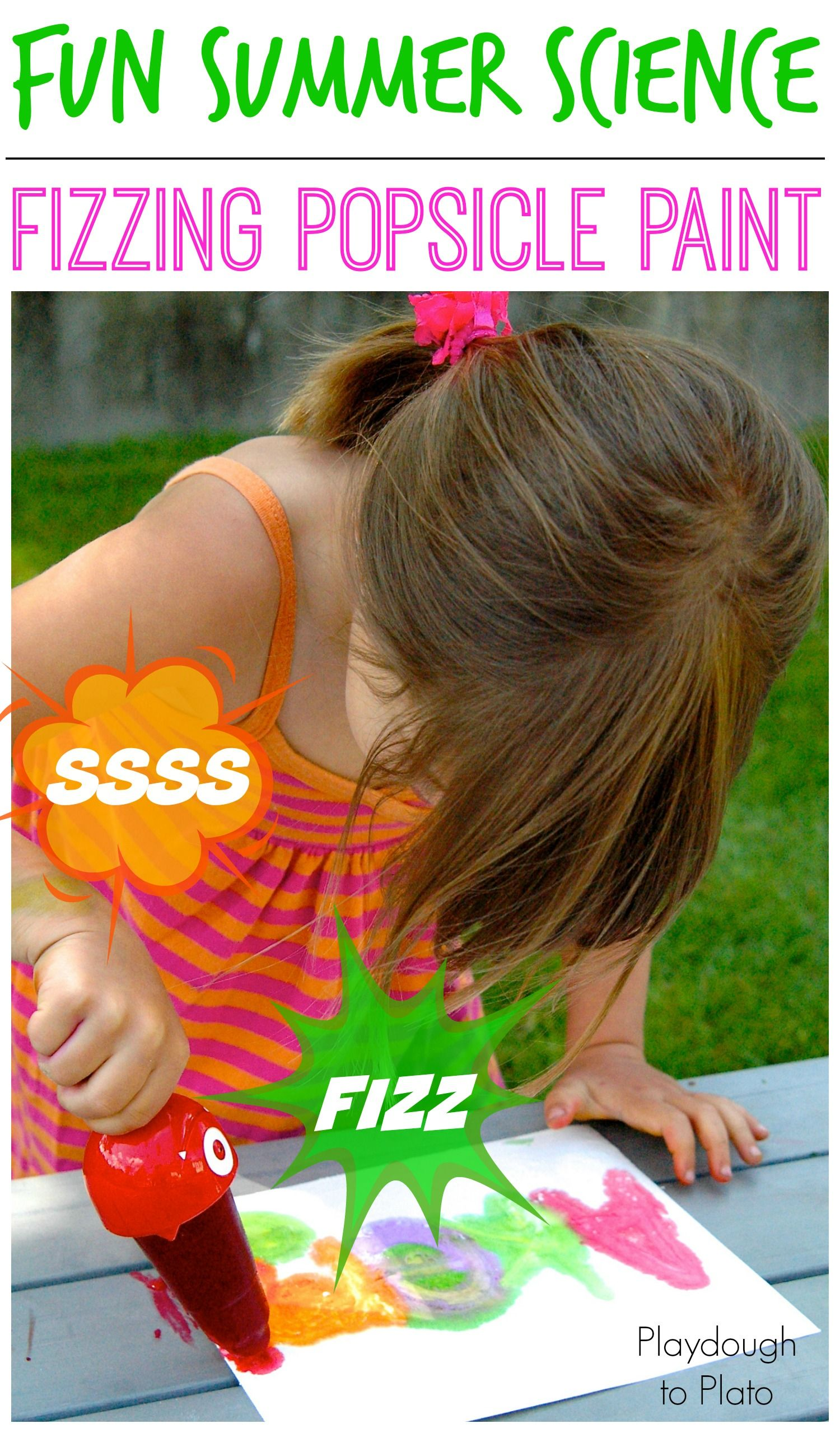 Magic Fizzing Popsicle Paint - Playdough To Plato