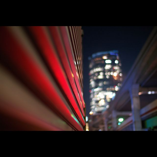 The View of Mori Tower from the Nishi-Azabu Intersection#creative366project by Takahiro Yamamoto