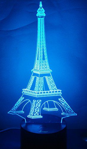 Loveboat Amazing Optical Illusion 3d Glow Led Lamp Art Sc Https Www Amazon Com Dp B018osrpie Ref Cm Sw R Pi Dp Amazing Optical Illusions Eiffel Illusions