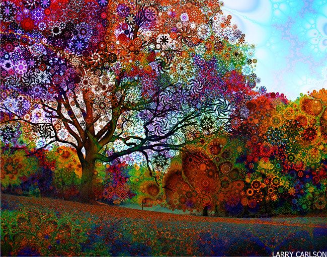 Afternoon Light by LARRY CARLSON