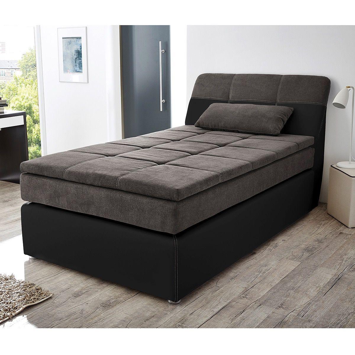 bett 120x200 schwarz Bett, Boxspringbett und Bett 120x200