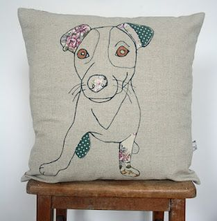 Naughty Dog Cushion Diane Watson