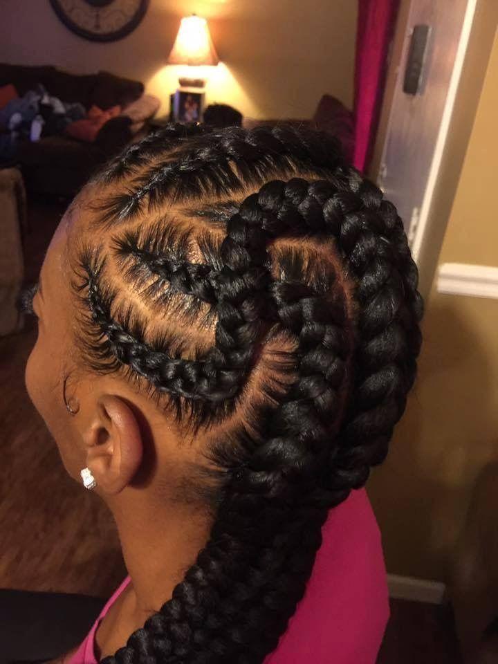 beautiful feed in braids styles
