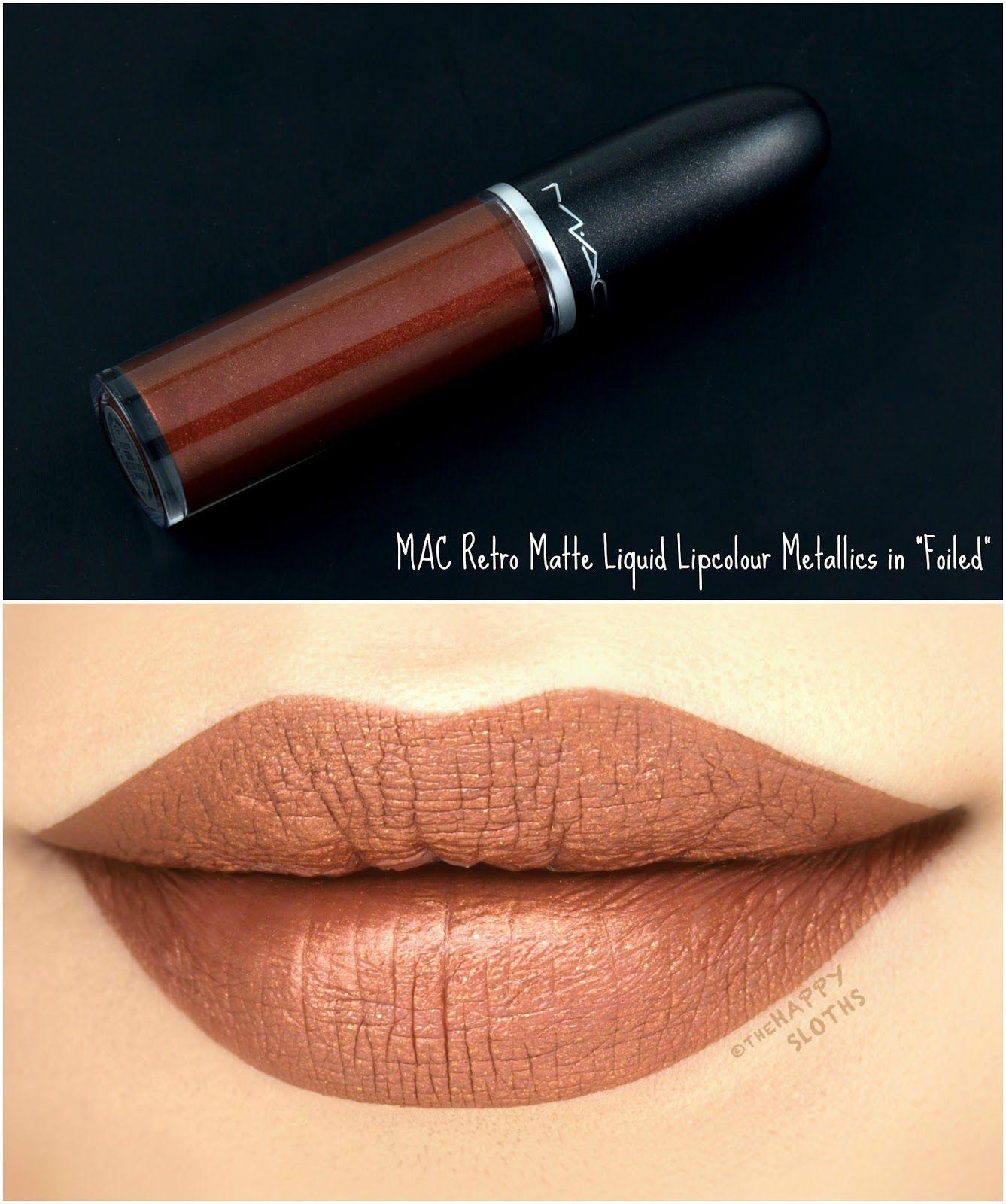 Mac Retro Matte Liquid Lipcolour Metallics Review And