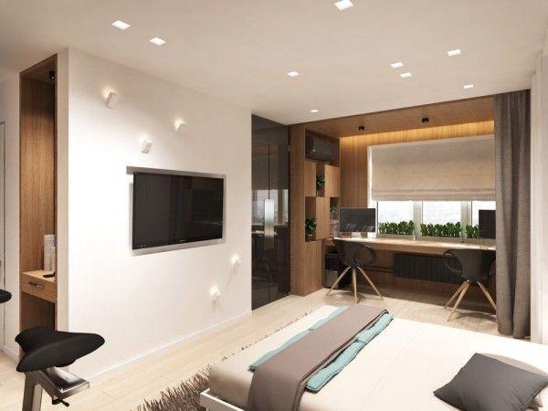 4 idées pour aménager un petit appartement de 30m2 Bedroom closets
