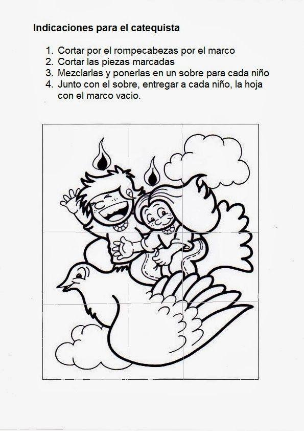 Pin de Montse González en m | Pinterest | Espíritu santo, Santos y ...