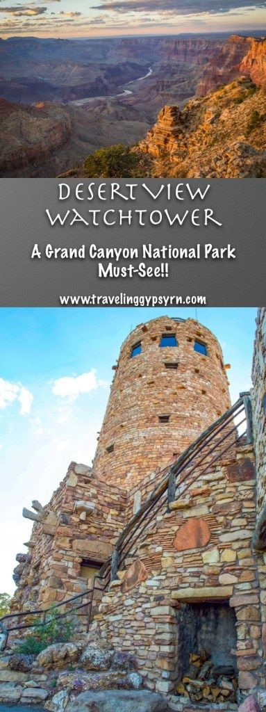 Desert View Watchtower - A Grand Canyon National Park Must-See #naturallandmarks