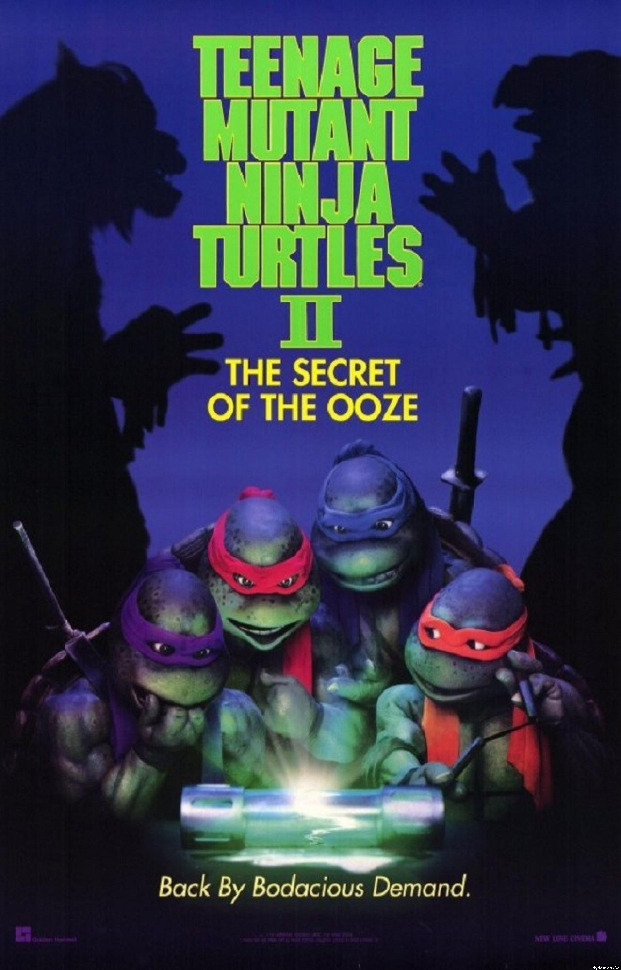 Retro review teenage mutant ninja turtles ii secret of the ooze - Teenage Mutant Ninja Turtles Ii The Secret Of The Ooze 1991