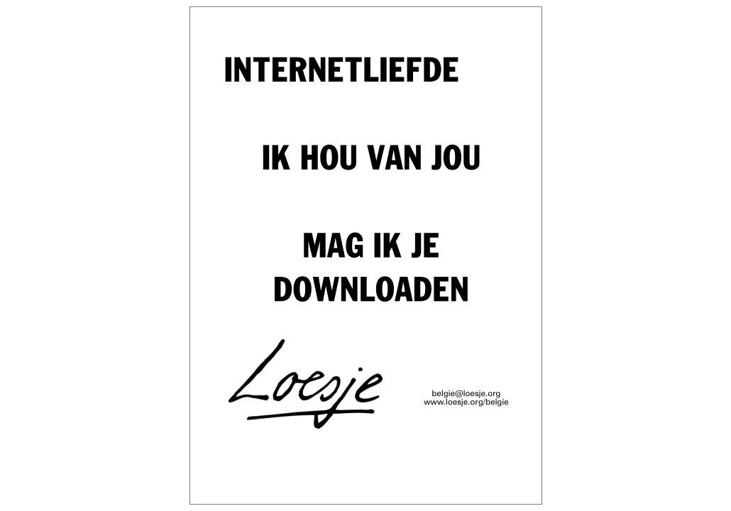 Internetliefde