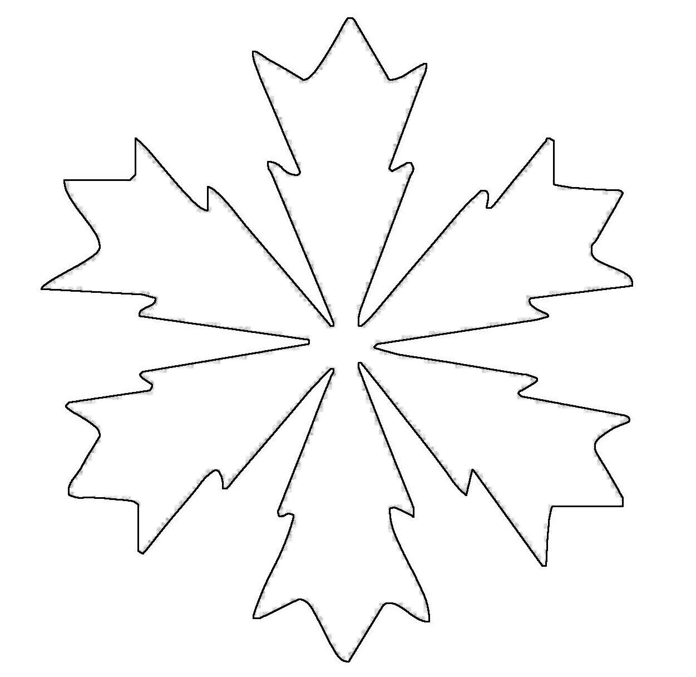Wilde zacken am Rand der Schneeflocke sind eine Herausforderung beim ...