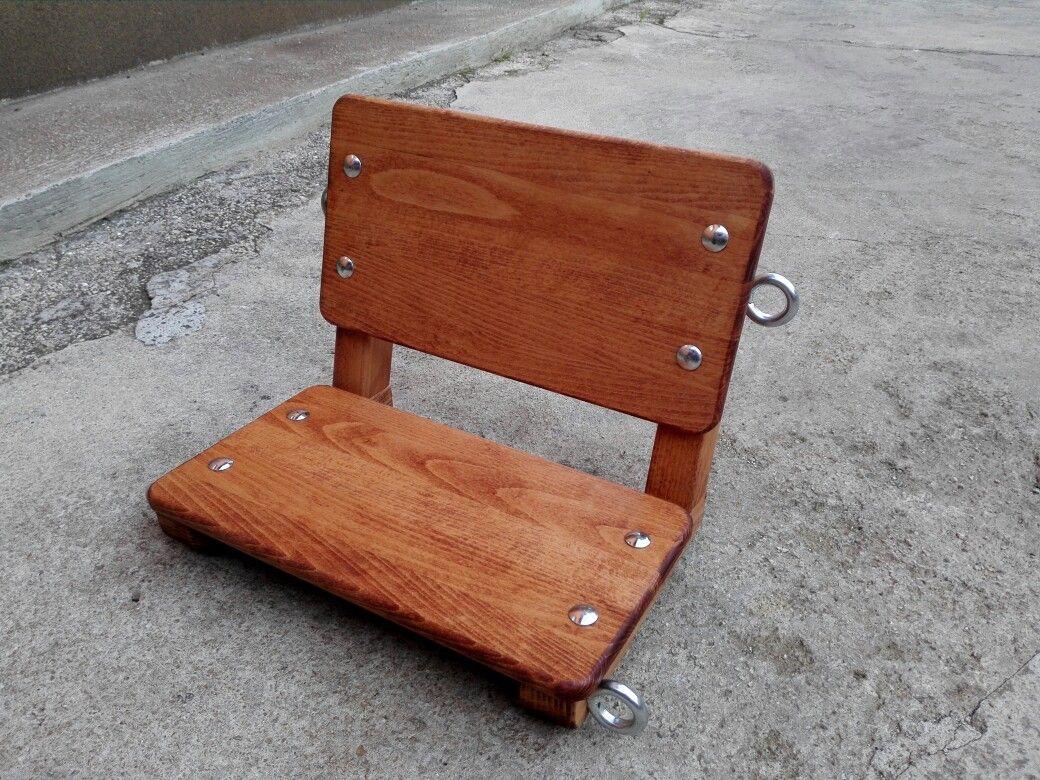 Diy kid swing seat diy pinterest