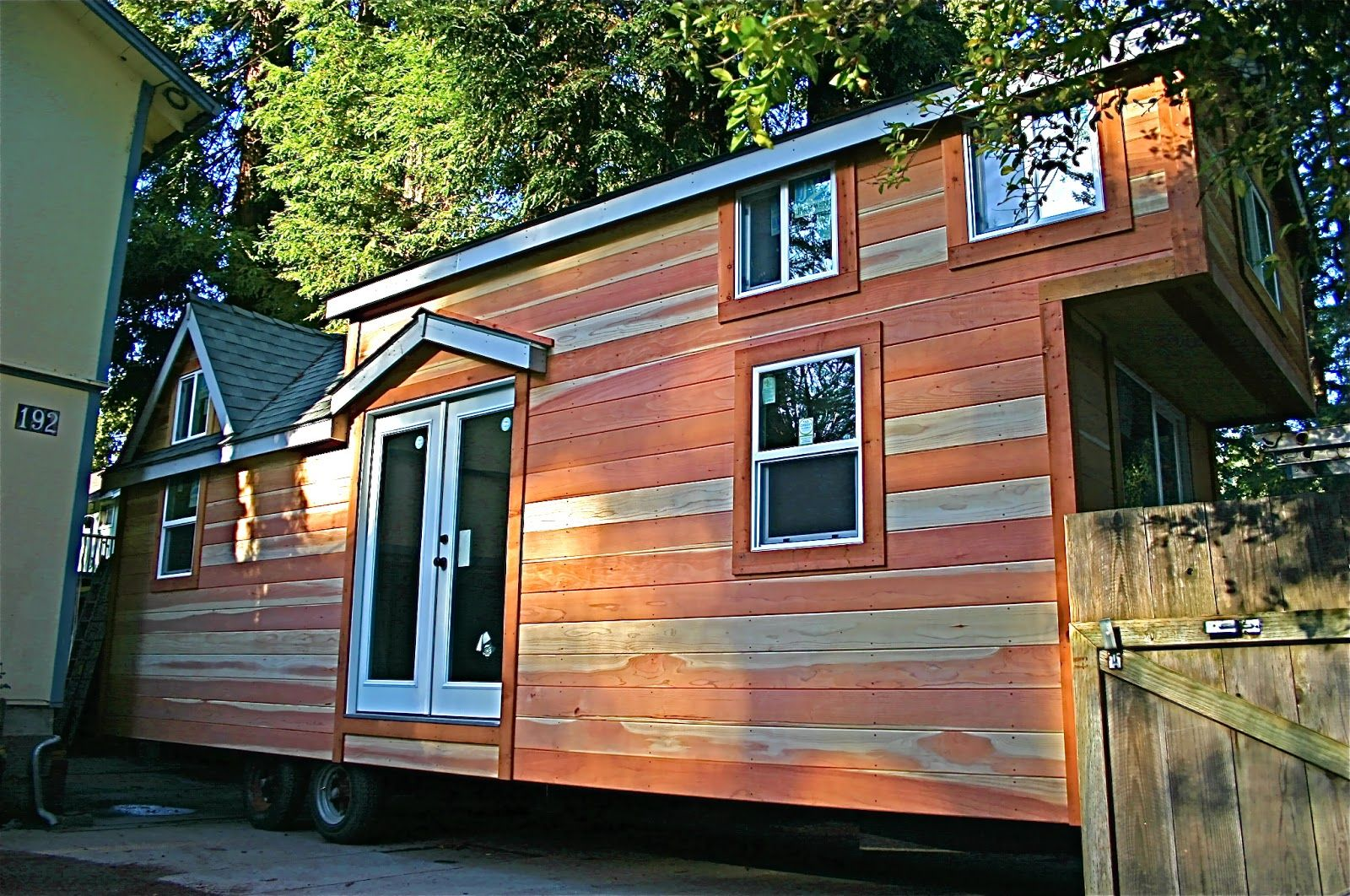 Tiny Home Designs: Molecule Builds Another Spacious Tiny Home On A Trailer
